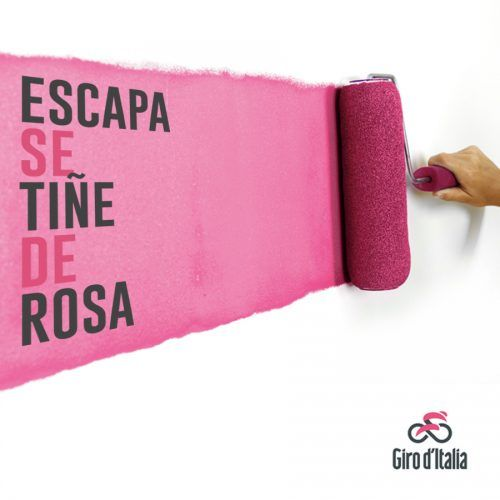 Empieza el Giro! y Escapa se tiñe de rosa