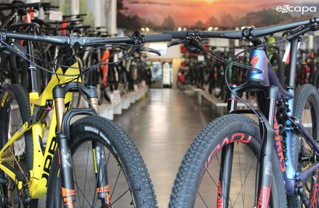 Comparativa de bicis. Orbea Oiz y Specialized Epic