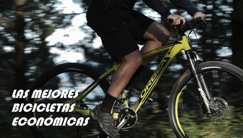 Las mejores bicicletas económicas