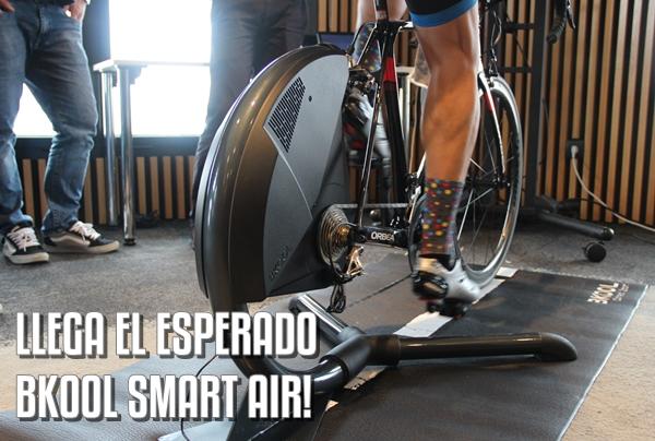 Llega el nuevo rodillo Bkool Smart Air!