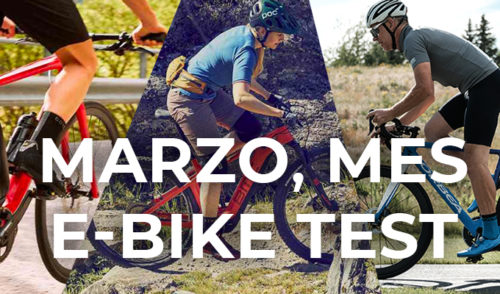 Marzo, mes e-bike test
