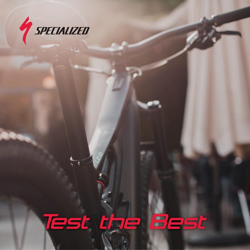 Test the best by Specialized: una flota de Turbo Levo a tu disposición!
