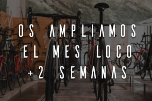 Remate final bicis temporada 2019 en Biciescapa