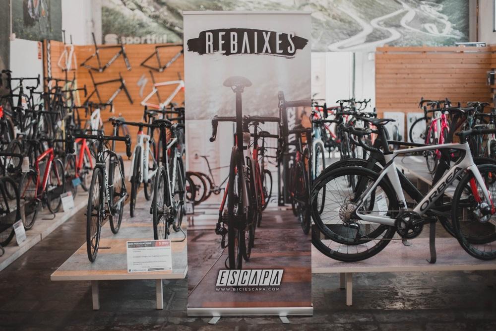 ¡Las mejores rebajas de ciclismo en biciescapa ya estan aquí!