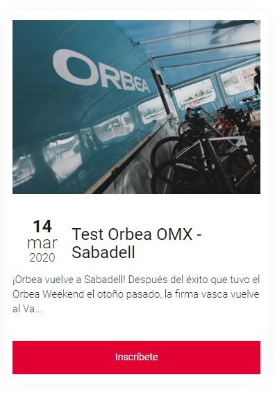 Orbea Orca OMX 2020: máxima ligereza y rigidez